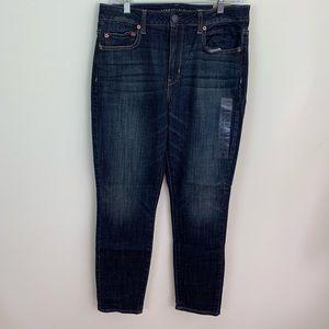 NWT American Eagle High Rise Skinny Jeans so 12p